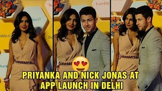 Priyanka Chopra And Nick Jonas At App Launch In Delhi | #PriyankaChopra | Bollywood News | TTM