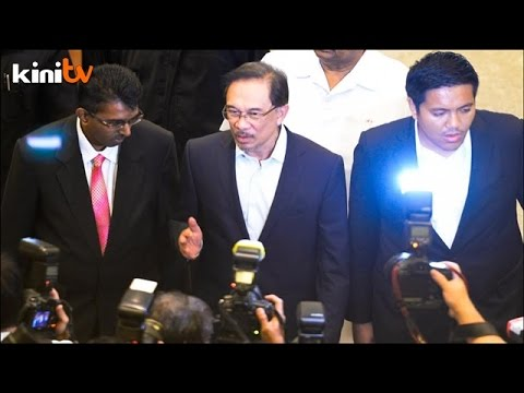 Anwar Appreciative Of Federal Court, Confident He'll Be Acquitted video