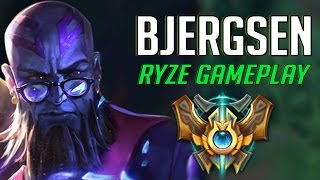 453. Bjergsen Ryze vs Fizz Mid - April 27th, 2017 - Patch 7.8 Season 7