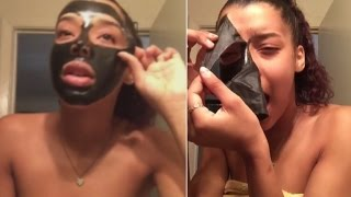 Charcoal Mask Beauty Trends Go Horribly Wrong: It Feels Like Waxing