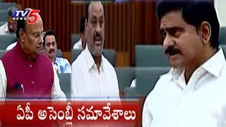 TDP Leaders Speaks In AP Assembly Budget Sessions 2018  - netivaarthalu.com