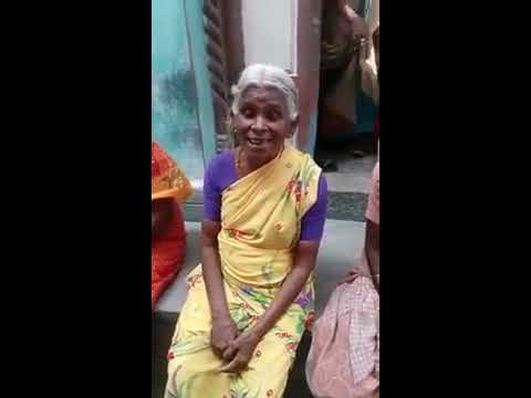 Our village grandma singing Jayalalitha songs