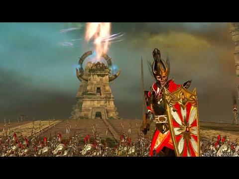 Total War: Warhammer 2 Official Gameplay First Glance - E3 2017