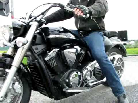 yamaha xvs1300a midnight star youtube. Black Bedroom Furniture Sets. Home Design Ideas