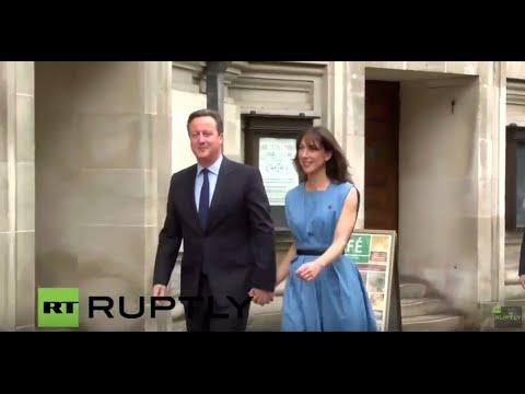 LIVE: UK's EU referendum: Cameron casts vote