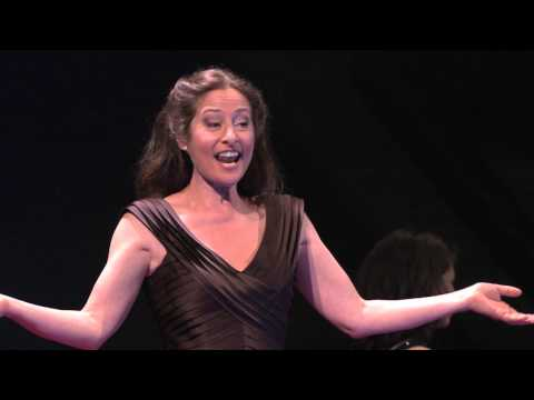 "Performance of ""caffeine"": Maria Ferrante and Alice Martelli at TEDxCERN"