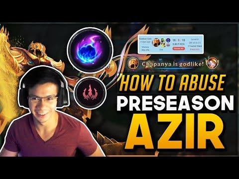 Shiphtur | HOW TO ABUSE PRE SEASON: AZIR MID ft. Imaqtpie