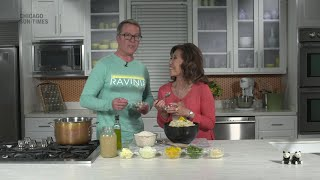 Food We Love: Yellow pepper and green bean risotto