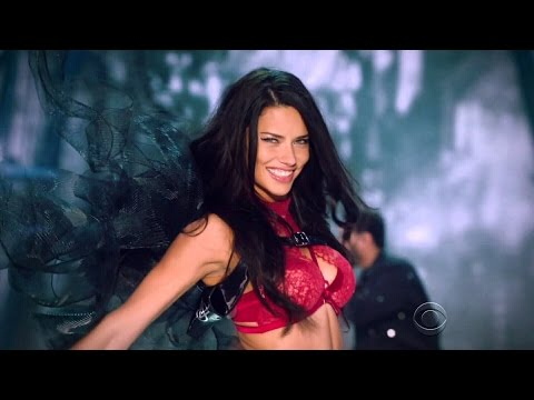 Adriana Lima Victoria's Secret Runway Walk Compilation 2003-2016 HD