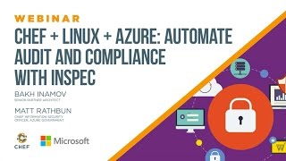 Chef + Linux + Azure: Automate audit and compliance with InSpec