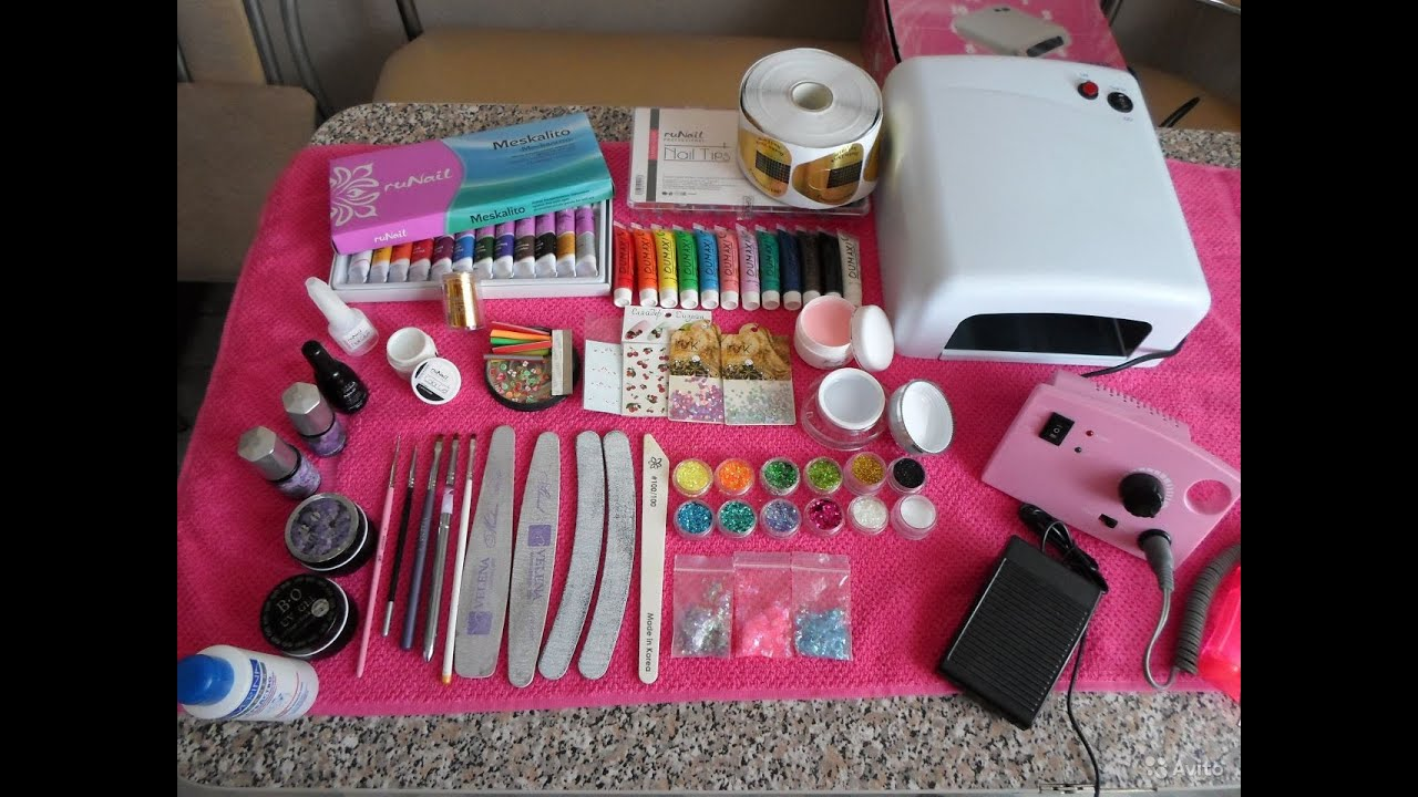 Список материал для наращивания ногтей в домашних условиях 202