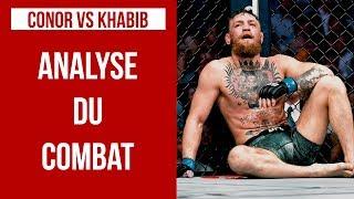 UFC 229 - CONOR McGREGOR VS KHABIB NURMAGOMEDOV : ANALYSE DU COMBAT