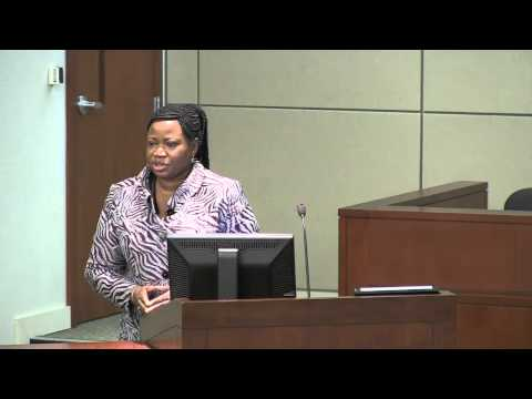 2012 VLS Charney Lecture - Reflections from ICC Prosecutor Fatou Bensouda