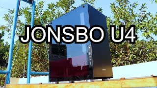 Jonsbo U4 REVIEW and PC BUILD  | BEST MID-TOWER RGB CABINET !?! in INDIA.