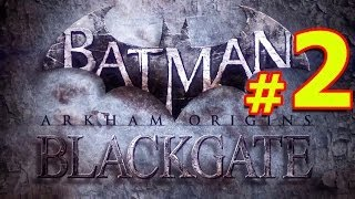 Batman Arkham Origins Blackgate Прохождение Часть 2 БЛЭКГЕЙТ