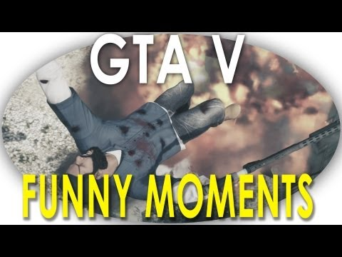 GTA V - Funny Moments In Free Roam (GTA 5) powered by @elgatogaming