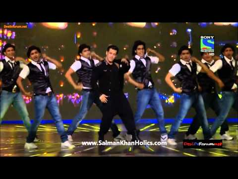 Salman Khan's Performance At Filmfare Awards 2014 ! video