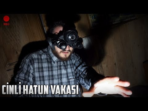 CİNLİ HATUN VAKASINDA BİR GECE GEÇİRDİK!  - Paranormal Olaylar