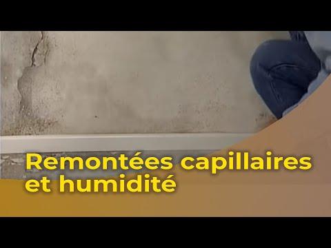 Le traitement des murs contre les remontées capillaires d'humidité