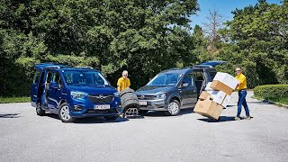 Opel Combo vs. VW Caddy - Hochdachkombis im Vergleich | ÖAMTC