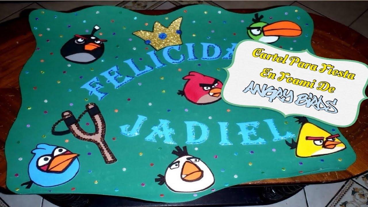 Idea Para Fiesta De Los Angry Birds
