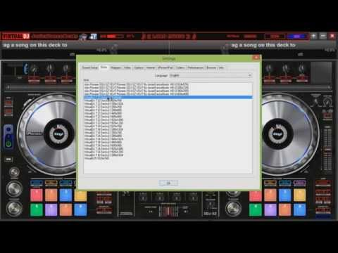 Pionner ddj sz Skin para virtual dj 7 free download