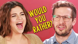 """Download Lagu Selena Gomez And The Cast Of """"Hotel Transylvania 3"""" Play Monster Would You Rather Gratis STAFABAND"""