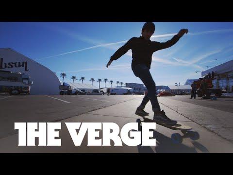 ZBoard 2 electric skateboard hands-on — CES 2015