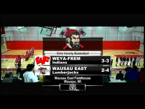 Girls Varsity Basketball- Wausau East vs Weyauwega Fremont