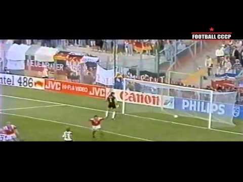 401.ЧЕ 1992 Германия-СНГ 1-1 - UEFA Euro 1992 Germany-CIS (USSR) 1-1