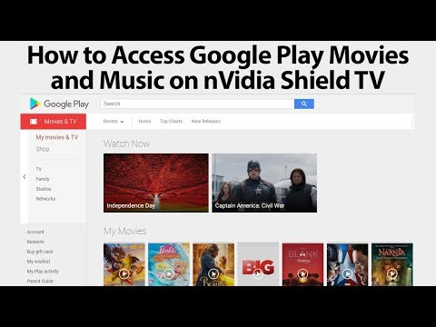 How to Access Google Play Content on nVidia Shield TV