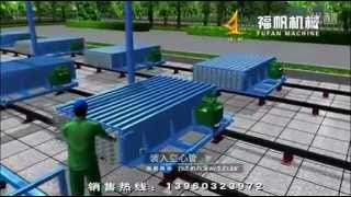 Wall Pannel Production Line| wall panel machine.flv