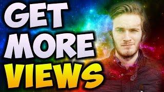 How To Get More VIEWS On Your YouTube Videos FAST (2017)