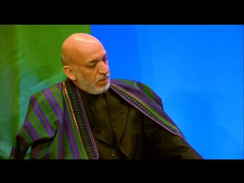 OBAMA & Afghan President KARZAI press conference at NATO Chicago Summit 2012 (5/20/2012)