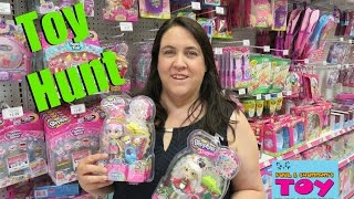 Toy Hunt @ Toys R Us Target | Gift Ems Shopkins Squinkies & More | PSToyReviews