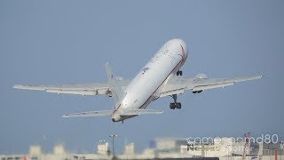 ABX Air Empty Takeoff | Boeing 767-300F | N363CM | Miami | Sony RX10M3