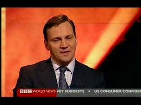 Radosław Sikorski in Hardtalk BBC part III