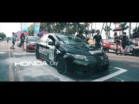 Bangsaen GrandPrix 2016 Honda City By H.Drive Racing Team