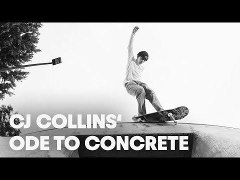 Skating Oregon's Finest Custom Parks /w CJ Collins. | Ode to Concrete