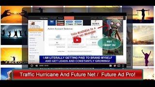Future Ad Pro / Future Net Compared to Traffic Hurricane!! My Results Comparison!