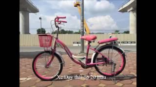 [THẾ GIỚI XE HAI BÁNH] Video Giới thiệu top 5 mẫu xe dành cho bé gái từ 6 đến 10 tuổi hot nhất