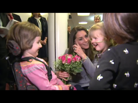 Duchess of Cambridge visits Shooting Star Children's Hospice