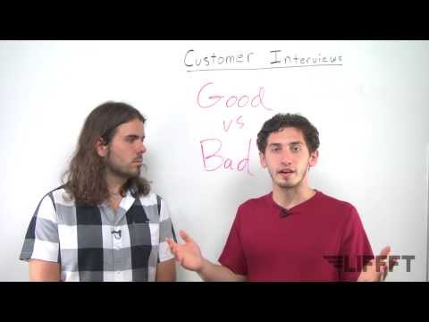 Good and Bad Examples of Customer Interview Questions