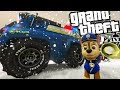PAW PATROL MOD W/ CHASE (GTA 5 PC Mods Gameplay)
