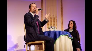 Educating for Justice Gala 2016 with Lin-Manuel Miranda