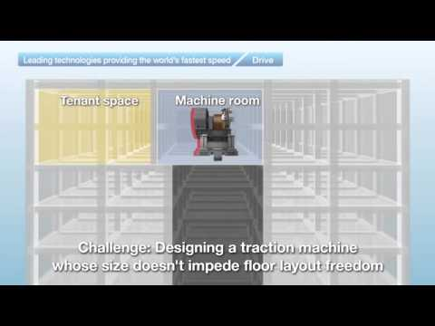 Technology of the fastest elevator in the world by hitachi drive