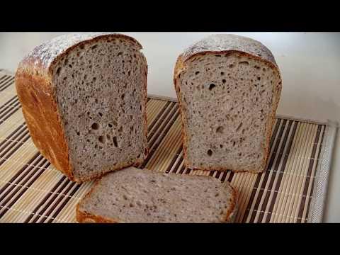 Как печь ржаной хлеб. Второй этап: замес теста, брожение, выпечка.