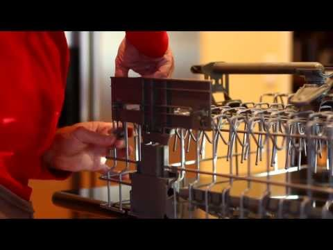 Replacing Adjuster Wheels on a Kitchenaid Dishwasher