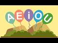 Ensinando as vogais em português - A E I O U  Para crianças thumbnail