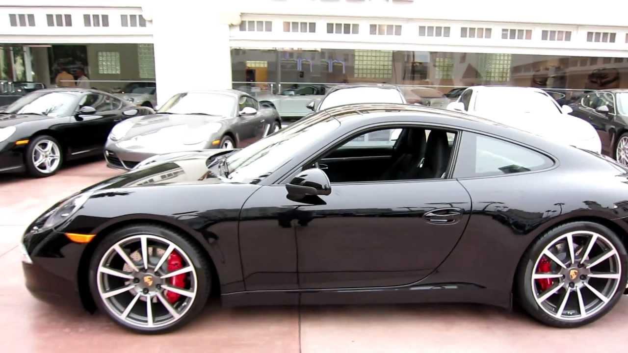 2012 Porsche 911 Carrera S Coupe 991 Black Pdk 700 Miles
